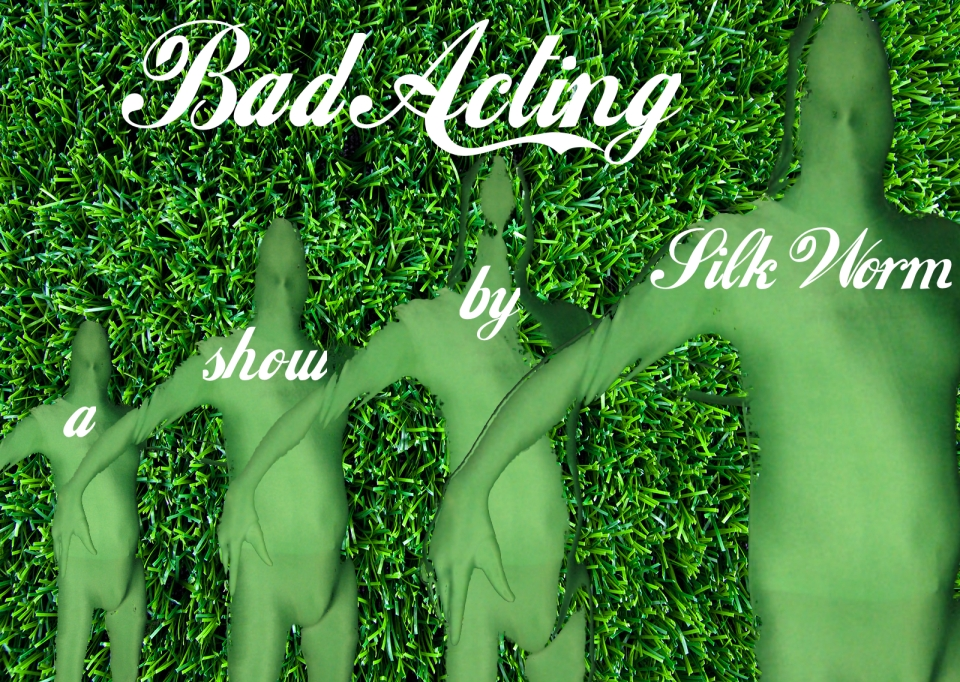 Bad Acting flyer new